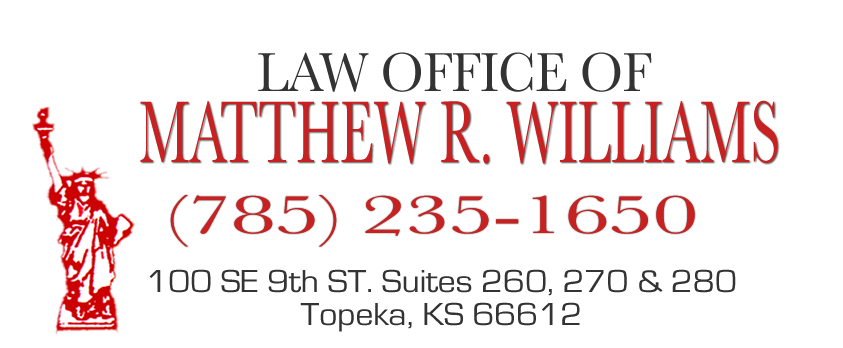 Topeka Criminal Defense Lawyer Matthew R. Williams