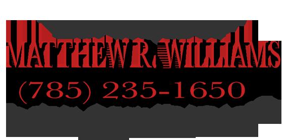 Topeka Criminal Defense Lawyer Matthew R. Williams